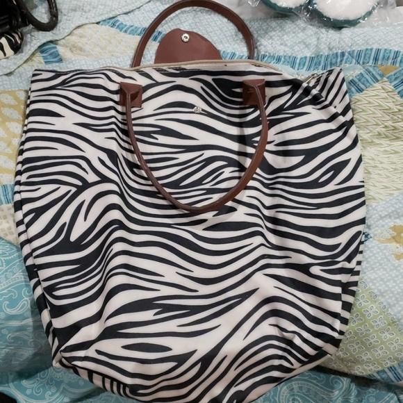Handbags - Zebra bag/purse